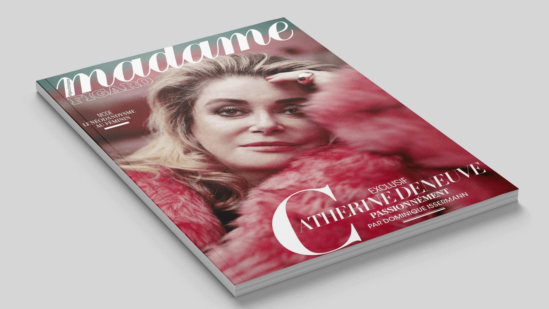 Article sur la marque de montres de luxe Trilobe dans le magazine Madame Figaro