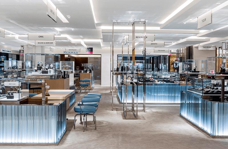 Visitez le corner Trilobe au 1er étage du Printemps Haussmann à Paris