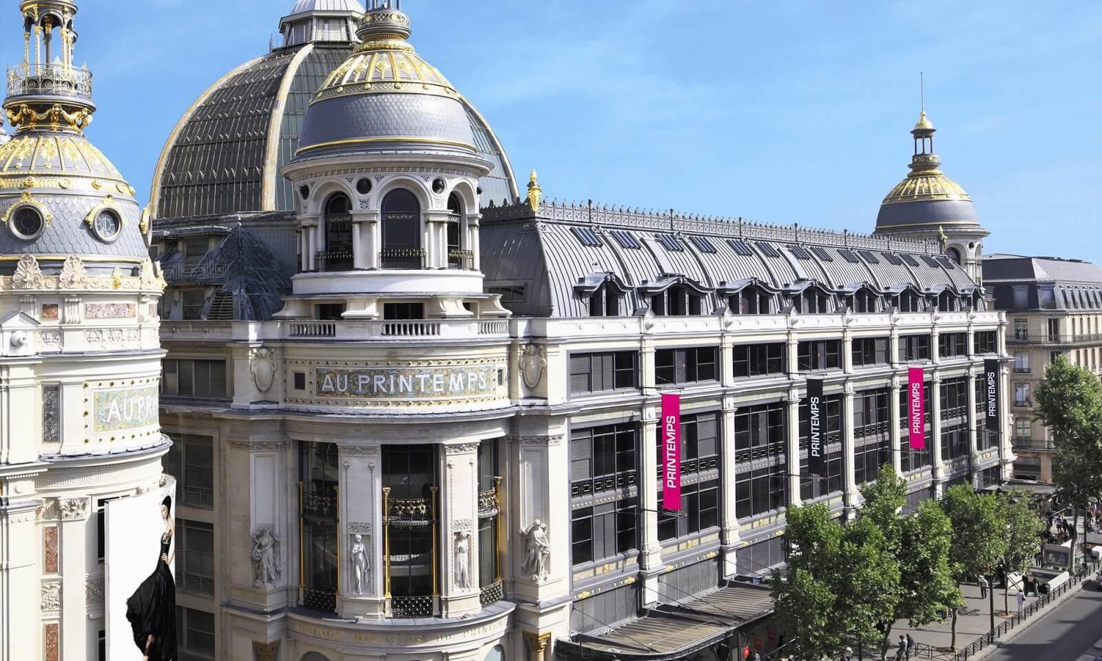 Visitez le corner Trilobe au Printemps Haussmann à Paris