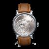 Soldat d'une montre automatique Trilobe de la collection Les Matinaux avec un cadran Argent Soleillé