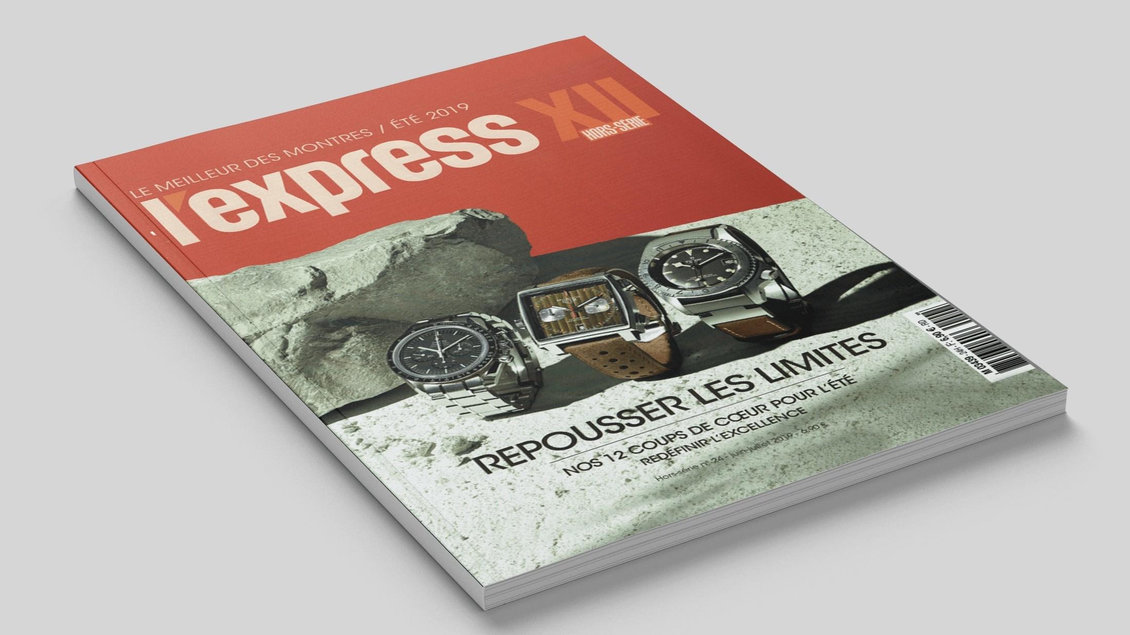 Article sur la marque de montres de luxe Trilobe dans le magazine L'Express