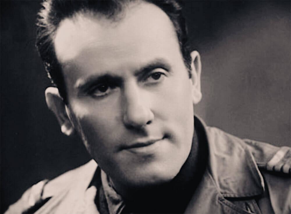 Portrait du poète français René Char