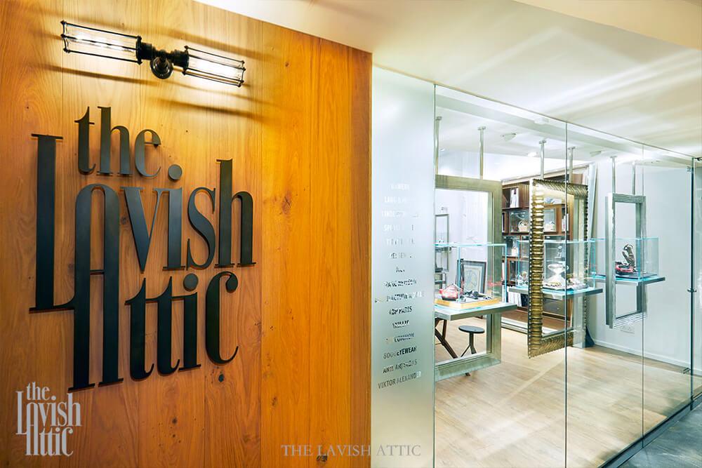 Retrouvez les montres de luxe Trilobe dans la boutique Lavish Attic à Hong-Kong