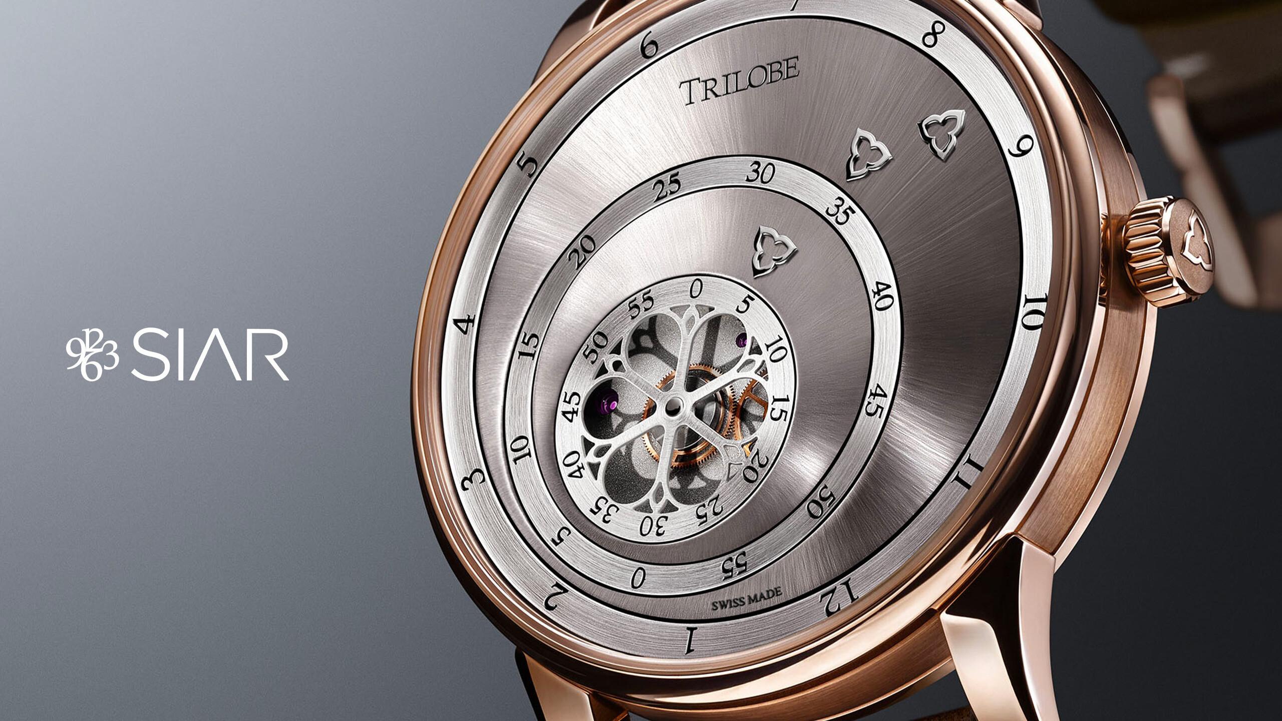 En 2020 la marque de montres de luxe Trilobe a participé au SIAR, le salon mexicain de haute-horlogerie