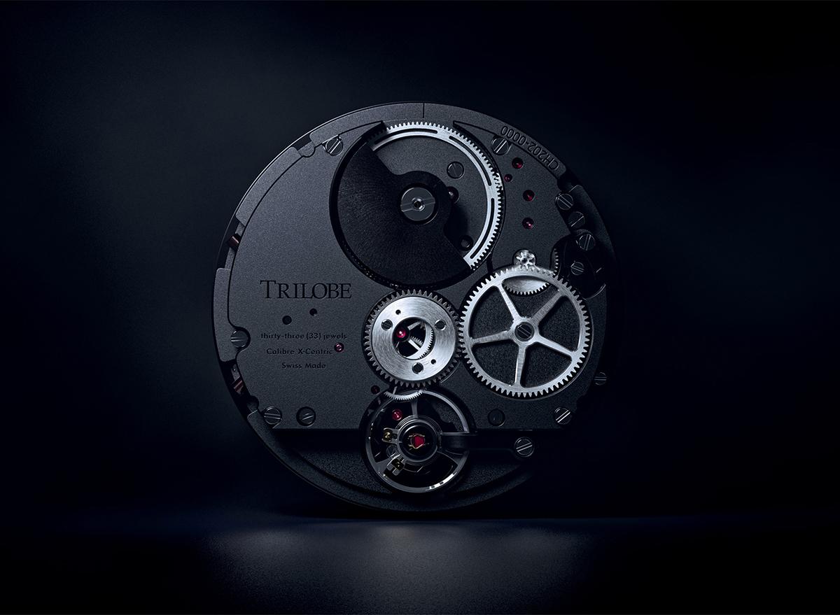 Mouvement X-Centric, le mouvement automatique intégré de Trilobe