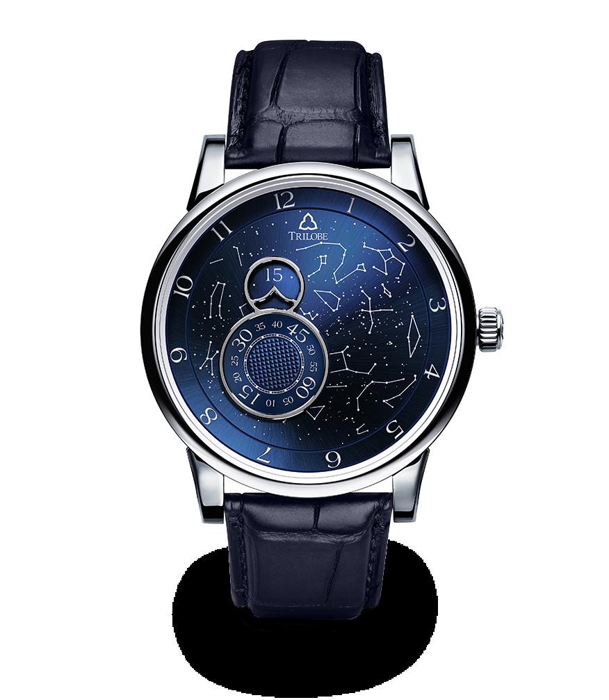 Montre Trilobe de la collection Nuit Fantastique, édition Secret.