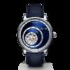 Montre Trilobe de la collection Les Matinaux, bleu soleillé.